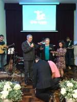 Abençoado culto em São José