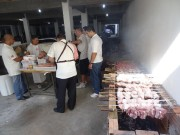 Almoço oferecido aos militares da UMESC