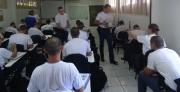 Bíblia do militar no 13ºBPM - Rio do Sul