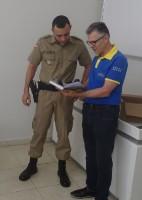 Bíblia do militar no 19º BPM - Araranguá