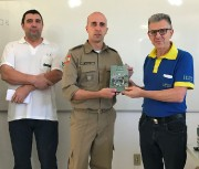 Bíblia do militar no 9º BPM - Criciúma