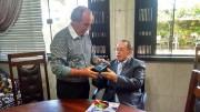Cel. Emilson visita Pr. Cesino Bernardino