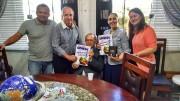 Visita ao Pr. Cesino - Presidente da GMUH