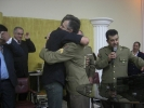 Comissário de polícia civil e Sd PM aceitam a Jesus. SC