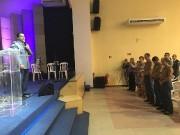 Honrados fomos pela presença de Deus