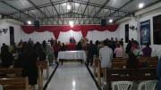 Culto abençoado em Ilhota - SC