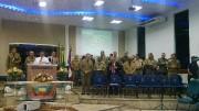Culto de militares em Caçador - SC