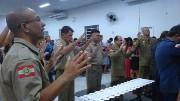 Culto de militares em Camboriú - SC
