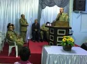 Culto de militares na cidade de Piçarras - SC