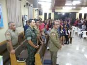 Culto de militares no bairro Tributo em Lages