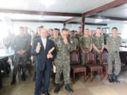 Culto do dia do soldado EB de Joinville - SC