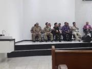 Culto militar realizado dia 23.06