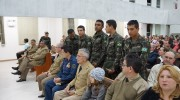 Culto militar alusivo aos 26 anos da UMESC
