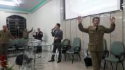 Culto militar em Biguaçu - SC