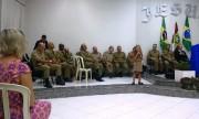 Culto militar em Jaraguá do Sul