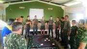 Culto militar no 62º BI Joinville - SC