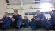 Culto na academia do Corpo de Bombeiros - SC