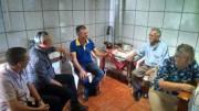 Culto na cidade de Barracão - RS com os militares da UMESC