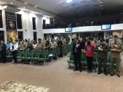 Culto militar em Içara