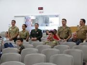 Militares na cidade de Mafra