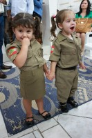 Militares no culto em Joinville - SC