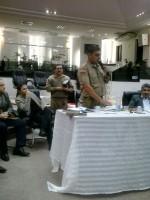 Palestra sobre segurança para obreiros de Içara - SC