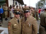 Militares associados da UMESC promovidos em Lages
