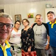 Viagem de visitas Pr. Rotta