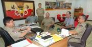 Visita ao CMt Geral da BMMA