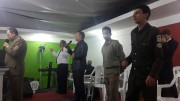 Visitas e Culto de militares em Araranguá