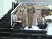 Culto de militares em Indaial - SC