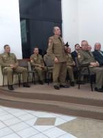 Culto de militares evangélicos em Anita Garibaldi