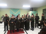 Culto militar em Araranguá - SC