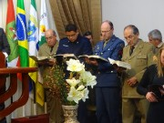 Culto militar em Urubicí - SC
