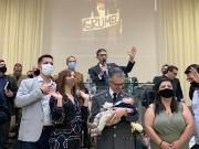 Grande participação neste belo culto