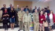 Militares em Santa Terezinha-SC