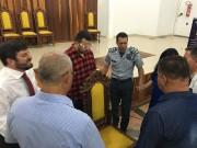 Reunião na Capela da PMDF - Brasília