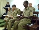Soldado Aceita a Jesus em Culto de Militares