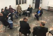 Reunião com os militares no 1ºBPM